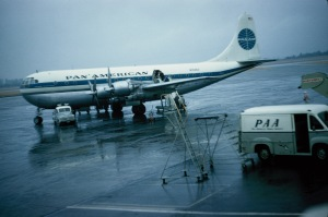 Connecting airlines to Alaska - late '50s