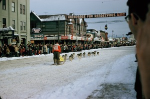 Fur Rendezvous, Anchorage, Alaska,  1956