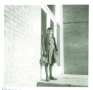 10 years old at the Napi Elementary School in Montana