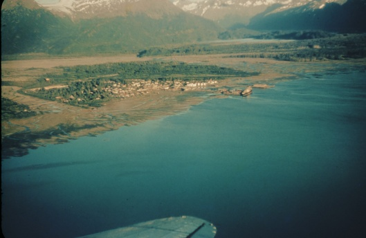 The old village of Valdez, Alaska -- before the Good Friday  Earthquake
