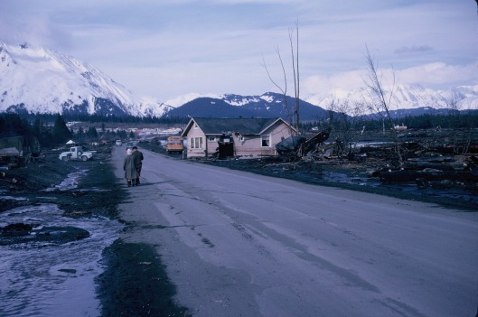 Seward, Alaska after the earthquake