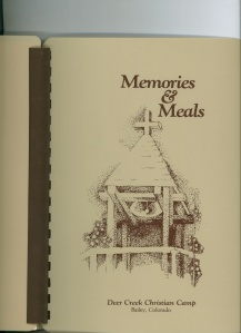 Memories & Meals -- Cookbook, History, Stories