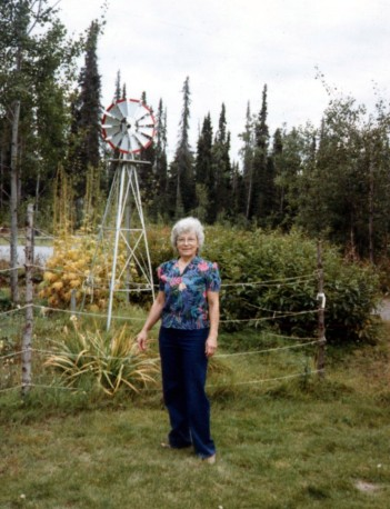 Mom and Windmill