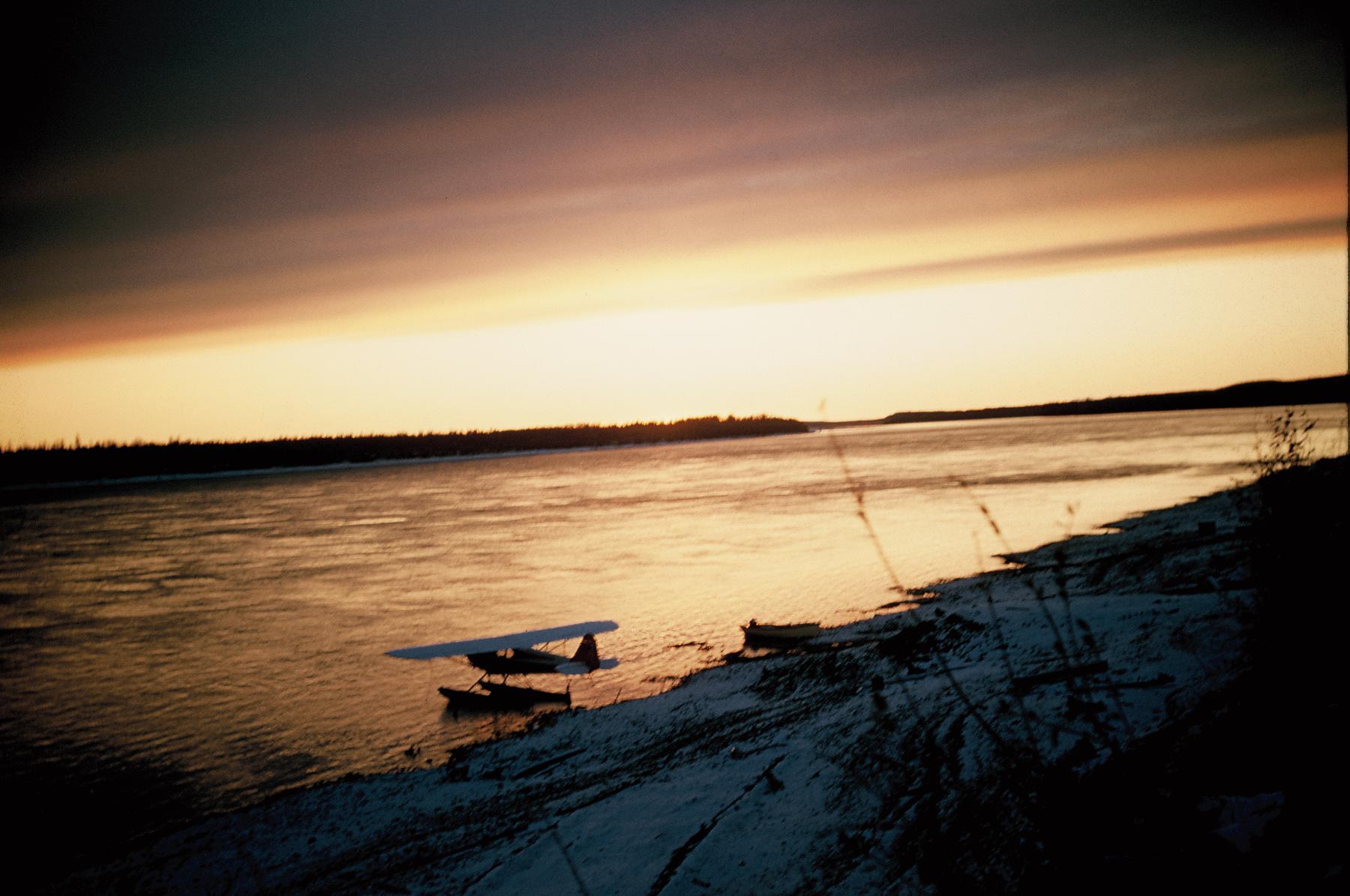 J-3 sunset Yukon